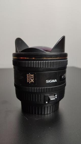 Lente Sigma 10mm F/2.8 Fisheye P/canon