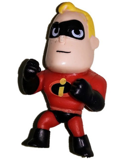 Los Increibles Mr Incredible Figura Aleacion Plastica 7.5cm