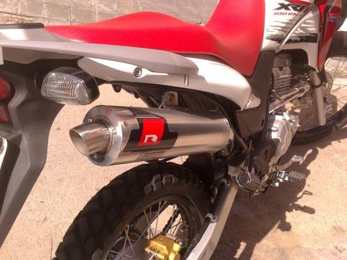 Escape Deportivo Honda 300 Xre / Rally - Cuotas
