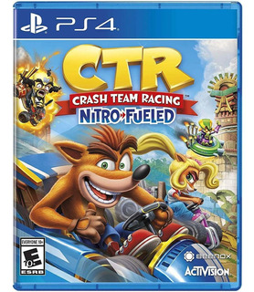 Crash Team Racing Nitro Fueled Ps4 Nuevo Sellado Gamers *_*