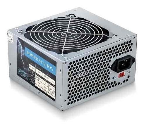 Fonte 500w Reais Potente Cooler 120mm Bivolt Atx Sata Ide