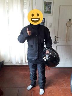 Campera Y Pantalón De Moto Marca Unga