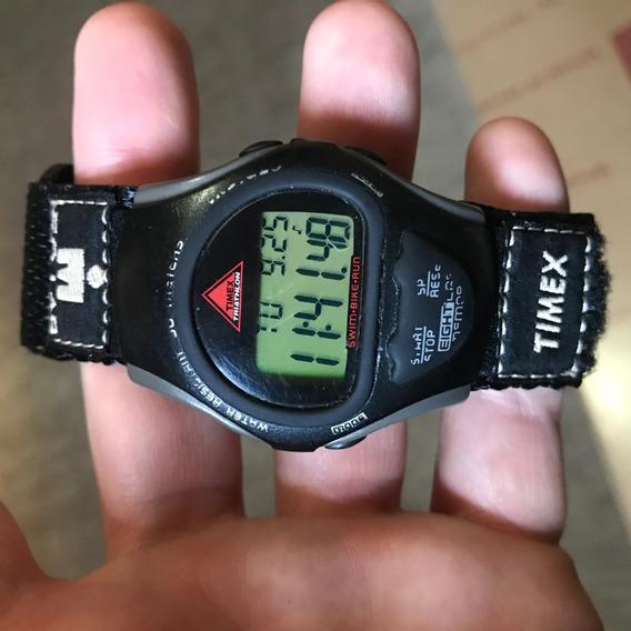 Raro Timex Ironman Triathlon Indiglo 50 Metros Aceito Trocas