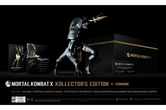 Mortal Kombat X Kollectors Edition By Coarse Xbox One