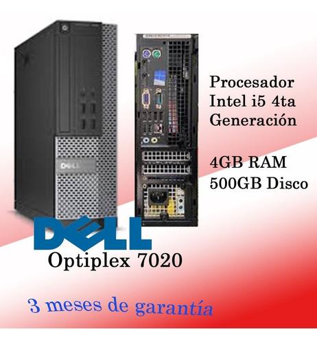 Imagen 1 de 4 de Computador Dell I5 4ta Generacion  Refurbished Somos Tienda