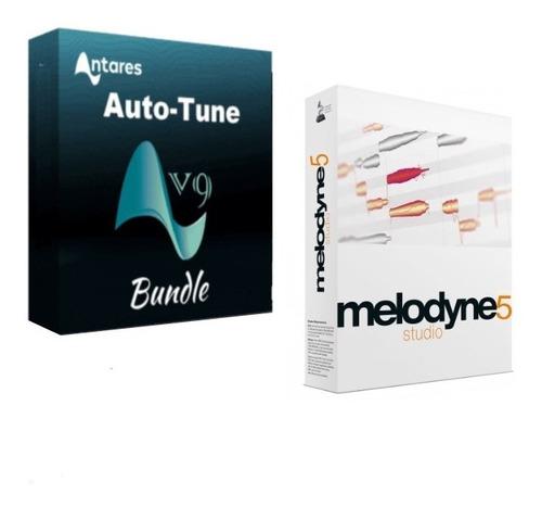 Melodyne Studio 5 + Autotune Pro 9 Para Win / Ultima Versión