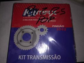 Kit Transmissão Kitmax Biz 125/ Pop 100 Aço 1045 Muito Bom