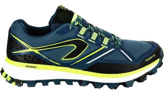 Tenis Trail Running Para Hombre Azul Marino 8489349