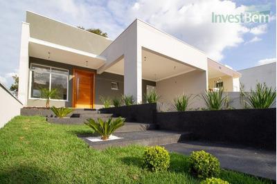 Casa Em Valinhos Em Condomínio Com 3 Suítes À Venda, 190 M² Por R$ 850.000 - Condomínio Residencial Flor Da Serra - Valinhos/sp - Ca0468