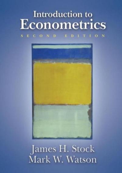 Introduction To Econometrics - 2nd Ed