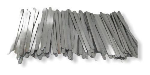 Imagen 1 de 4 de Sujetador De Nariz De Aluminio Para Kn95 Cubrebocas  100 Pzs
