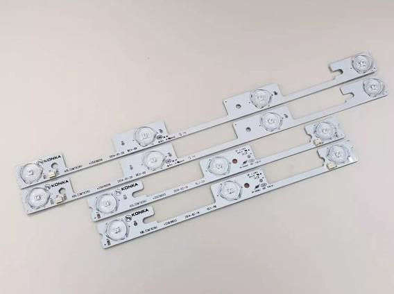 Kit Completo Barras Led Semp Toshiba 32l2400 Dl3244 Dl3245i
