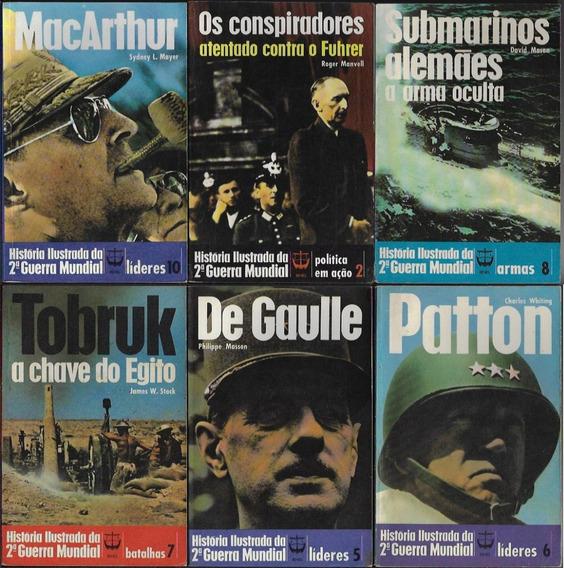 1 Livro História Ilustrada 2ª Guerra Mundial Editora Renes