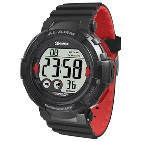 Relógio X-games Masculino Digital Xmppd529 Bxpv Vermelho Nf