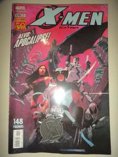 X Men Extra 120 Lacrado Com Chaveiro Brinde Panini 2011 Exce