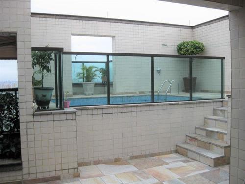 Imagem 1 de 30 de Cobertura Duplex No Tatuapé Com 3 Dorms Sendo 1 Suíte, 3 Vagas, 250m² - Co0285