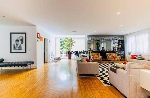 Casa Com 4 Dormitórios À Venda, 620 M² Por R$ 6.400.000,00 - Brooklin - São Paulo/sp - Ca3851