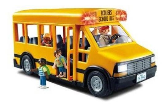 Playmobil - 5940 Escola - Ônibus Escolar