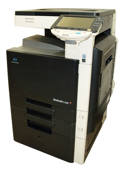 Impressora Digital Konica Bizhub C280 - Rodando