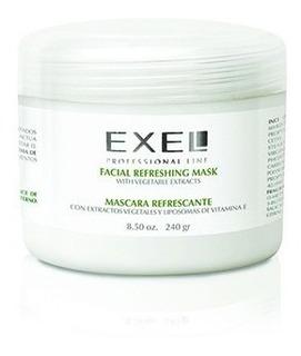 Mascara Refrescante Humectante Y Descongestiva. Exel. 240gr
