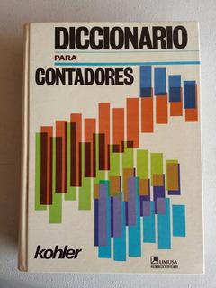Diccionario Para Contadores Kohler