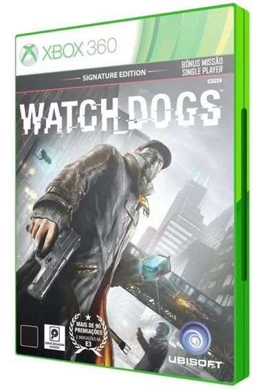 Watch Dogs Xbox 360, Conta. Não É Cd