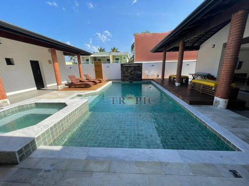 Imagem 1 de 26 de Casa Com 12 Dormitórios À Venda, 630 M² Por R$ 3.000.000,00 - Morada Da Praia - Bertioga/sp - Ca0425