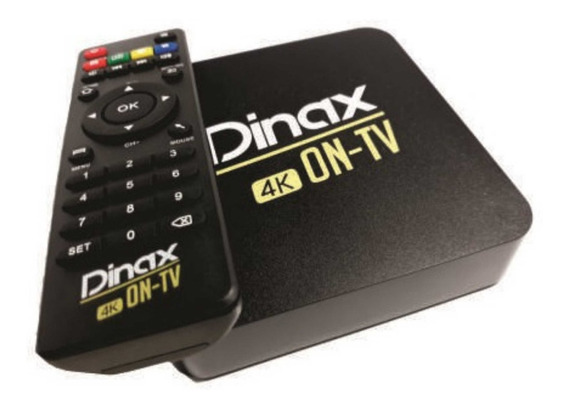 Tv Box Mini Pc Dinax 4k Con Android Smart P/ Netflix