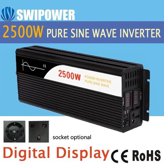 Inversor Swipower 2500-5000w 24v 220v 60hz Onda Pura Ar, Etc