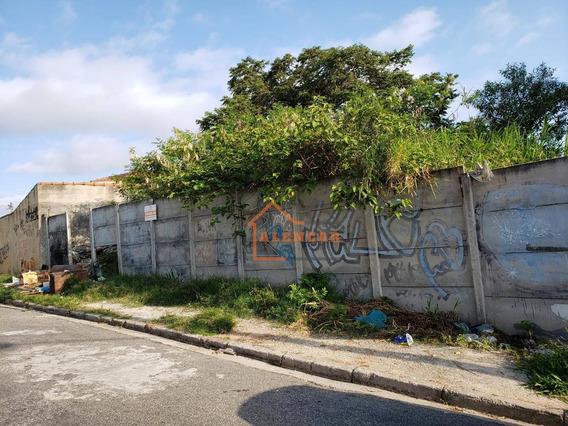 Terreno À Venda Ao Lado Da Estação Dom Bosco, 256 M² Por R$ 320.000 - Itaquera - São Paulo/sp - Te0004
