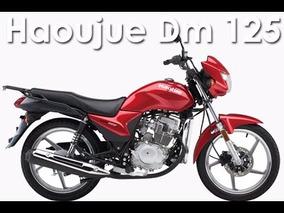 Moto Haojue Dm125z 125cc A/electrico F/disco Motor Cg