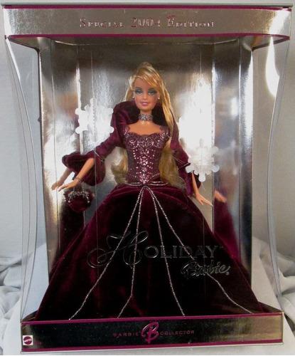 Imagen 1 de 1 de 2004 Holiday Barbie Muñeca