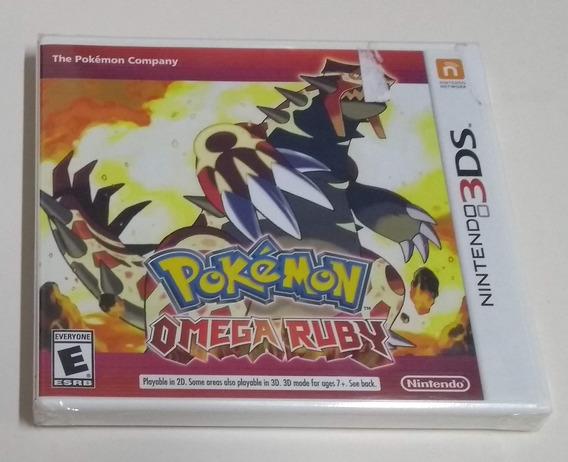 Pokémon Omega Ruby - Novo E Lacrado Para Nintendo 3ds