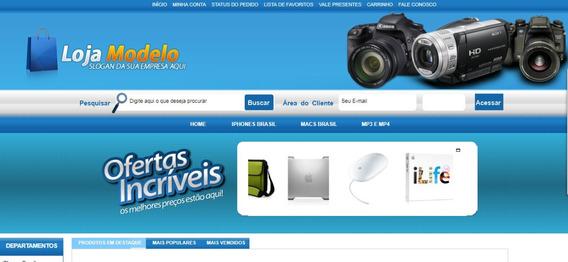 Mega Loja Virtual E-commerce Loja Virtual Script Php + Mysql