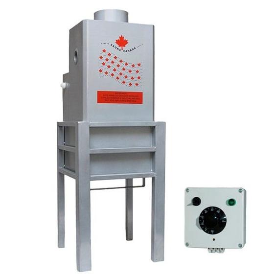 Sauna Úmida Vapor A Gás Automática 30m3 Controle Analógico
