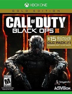 Call Of Duty: Black Ops Iii - Edición De Oro - Xbox One