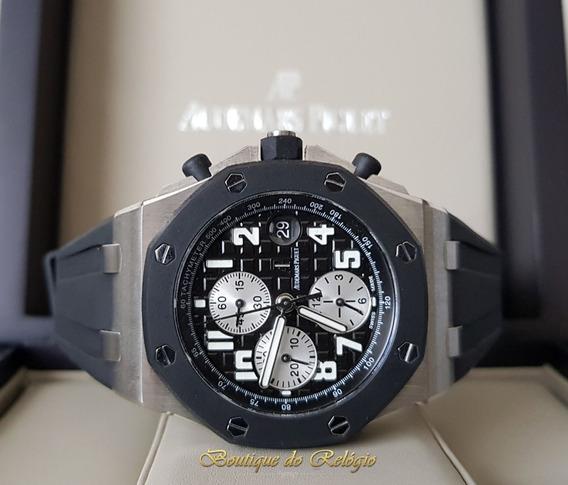 Relogio Modelo Cronograph Rubberclad Silver - 42mm