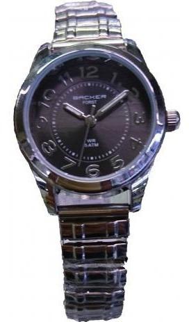 Relógio Backer Feminino 3486123f Pr Original Barato