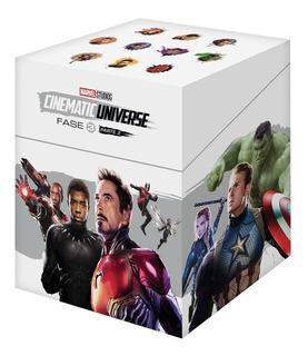 Universo Marvel Fase 3 Tres Parte 2 Boxset Pelicula Blu-ray