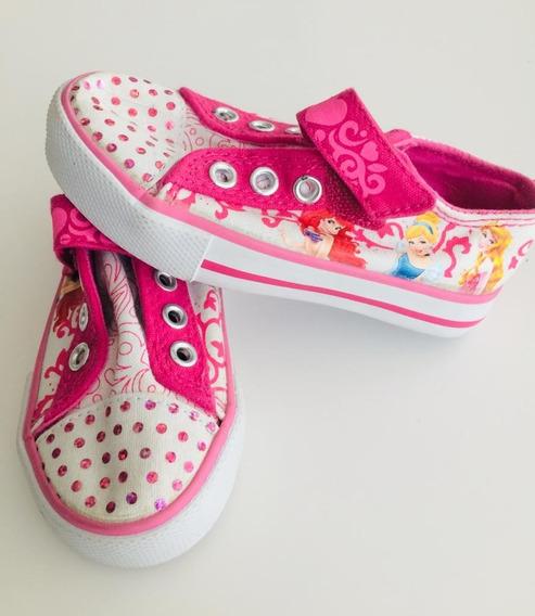 Zapatillas Princesas Nenas Disney Store Originales