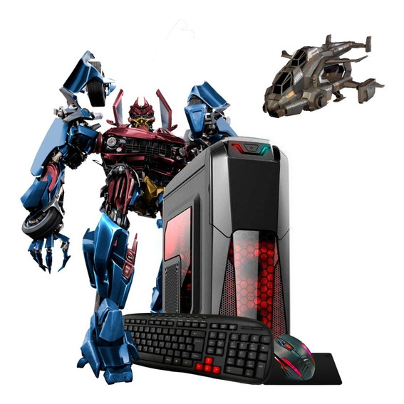 Pc Gamer A8 9600 3.4gz 10 Núcleos Ddr4 16gb R7 4k Ssd Novo!