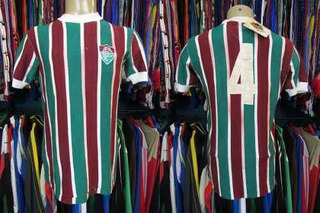 Fluminense 1975 Camisa Titular Tamanho G Número 4.