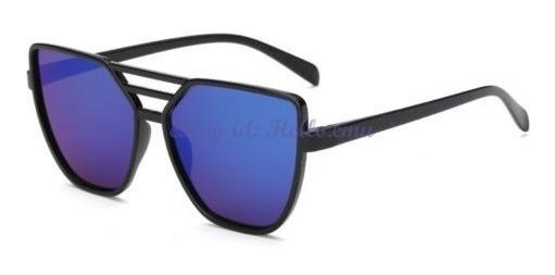 Anteojos De Sol Espejados Azules (a9)
