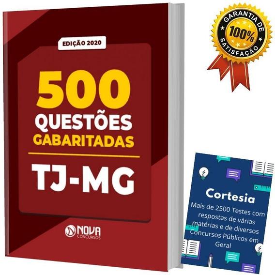 Caderno De Testes Tj Mg - Tribunal Justiça De Minas Gerais