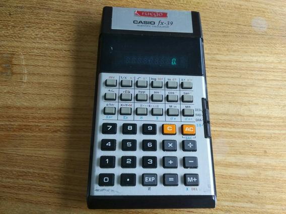 Casio Fx-39 Calculadora Cientifica