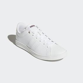 Tenis adidas Advantage Cl Qt W Branco Salmão Original
