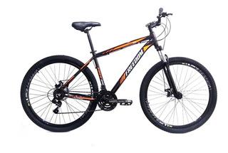 Bicicleta Aro 29 Shimano 21v Freedom Freio Disco Preto/laran