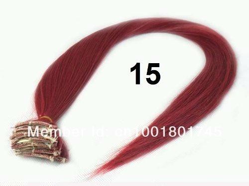 2 Mechas Tic Tac 3cm X 60cm - Vermelho 2 - Frete R$10,00