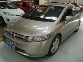 Honda Civic Lxs 1.8 Flex 2008 (completo + Couro)