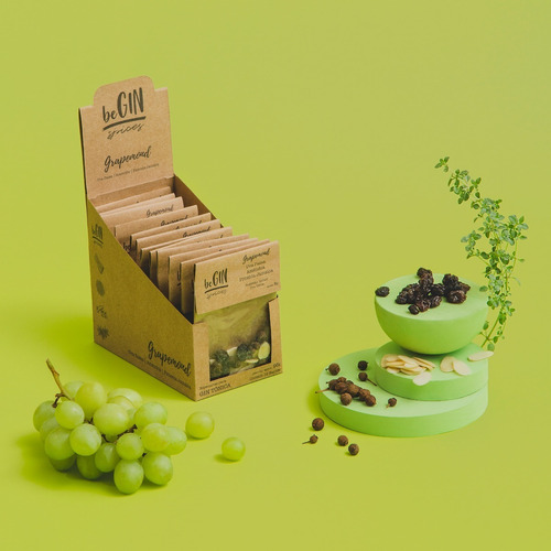 1 Box Grapemond - Especiarias Gin Tônica (12 Sachês)